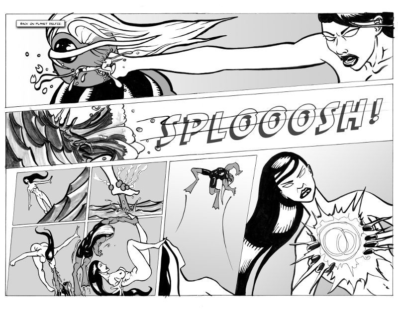 Alya: Water World Rumble-Page10&11